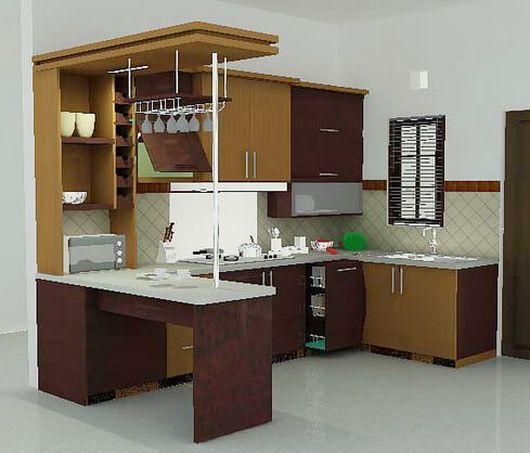 Usaha pembuatan kitchen set for Aksesoris kitchen set murah