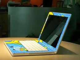 desain skin laptop
