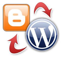 ilustrasi perbedaan wordpress dan blog
