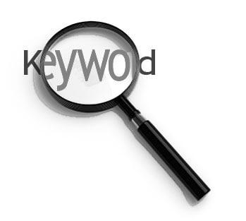 ilustrasi mencari keyword