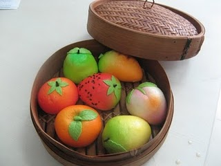ilustrasi produk bakpao buah