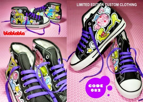 Kreatif Menjalankan Usaha Sepatu Lukis be09ce75db