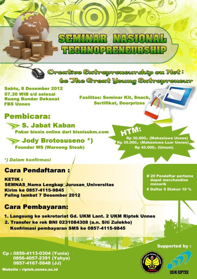 Seminar Technopreneur