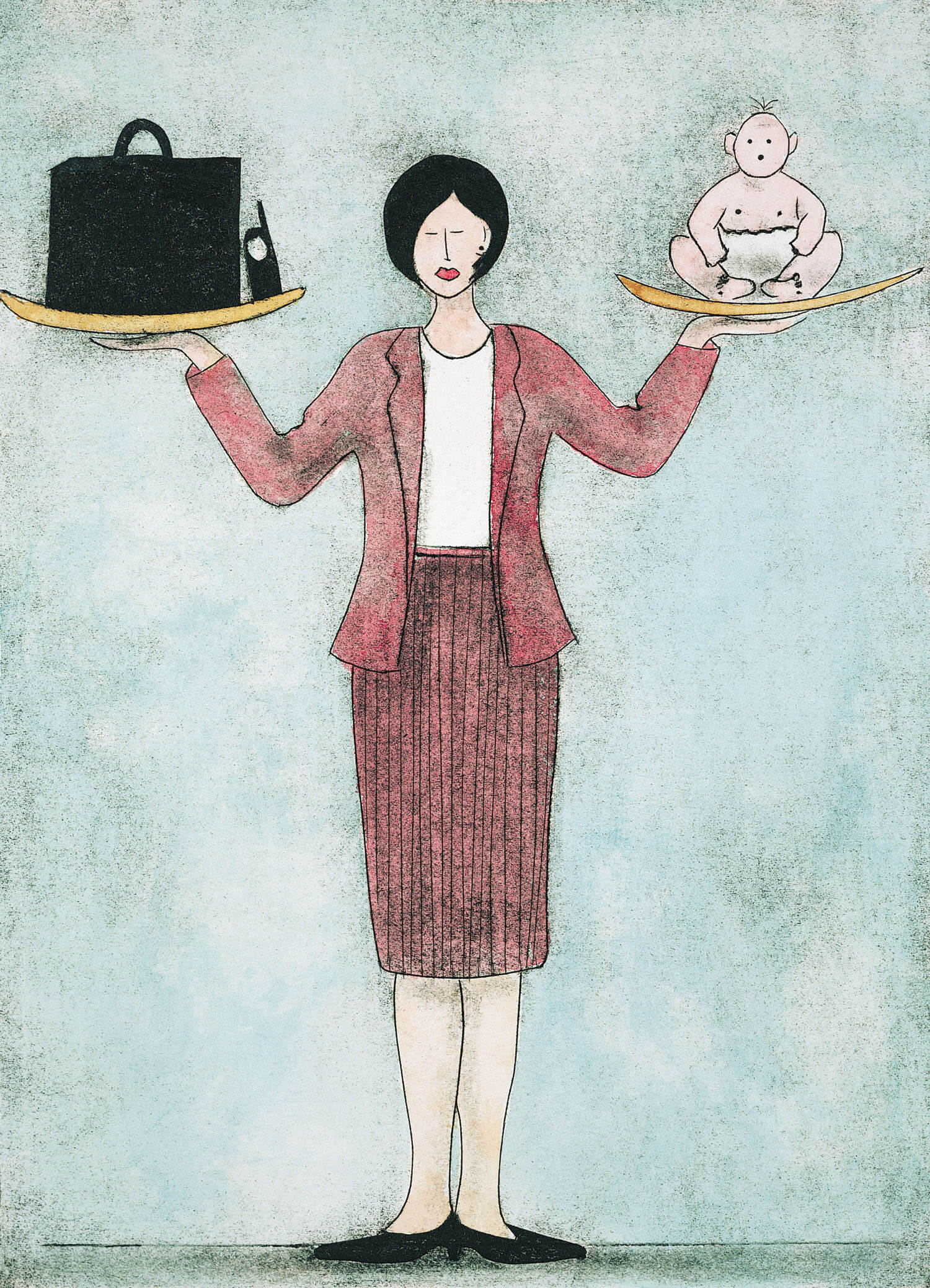 housewife vs working woman