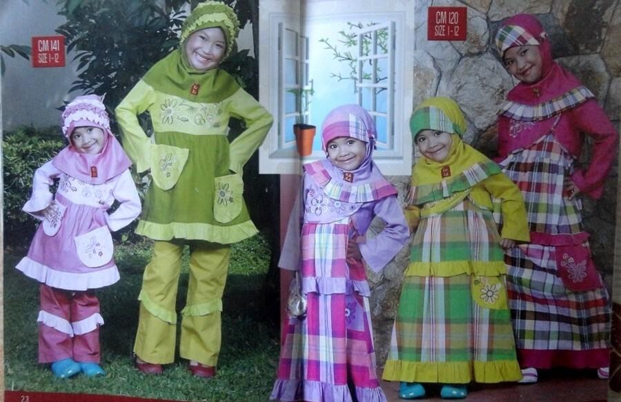 pemasaran baju muslim anak