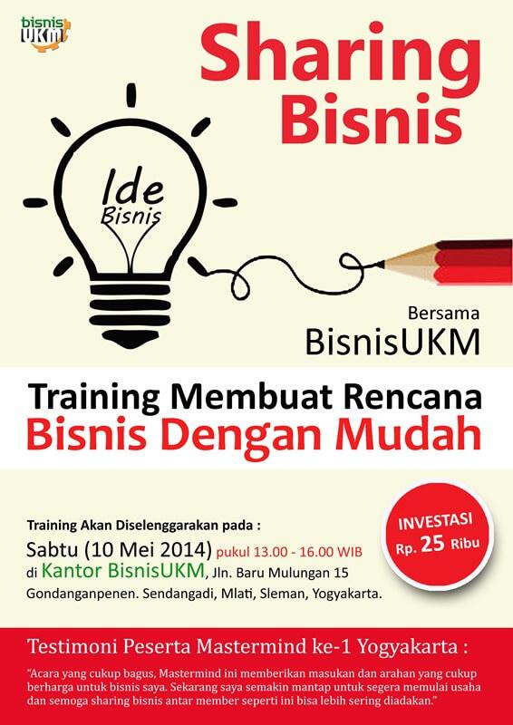 training membuat rencana bisnis