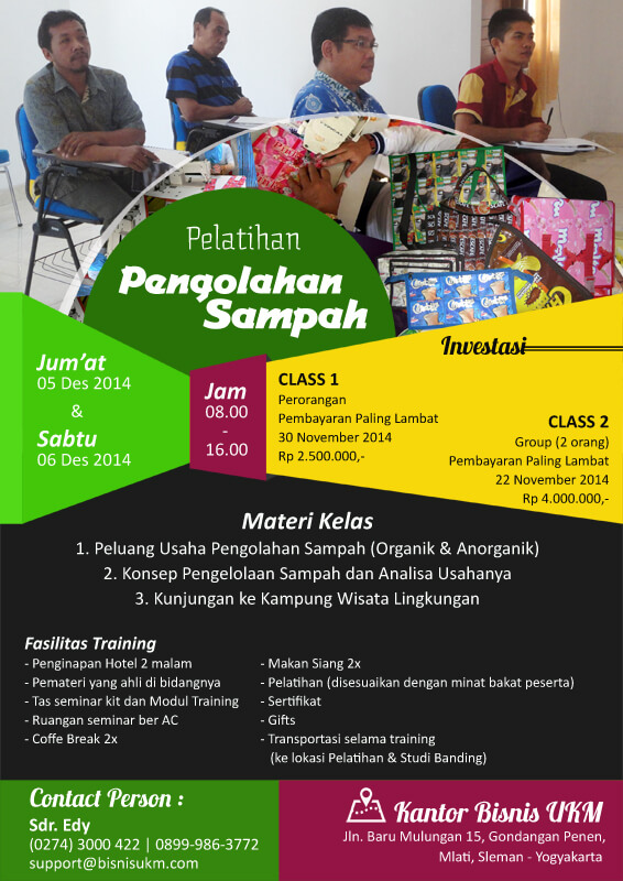 Training Pengolahan Sampah