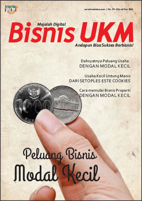 Majalah BisnisUKM Edisi Bisnis Modal Kecil Kios Koran Majalah