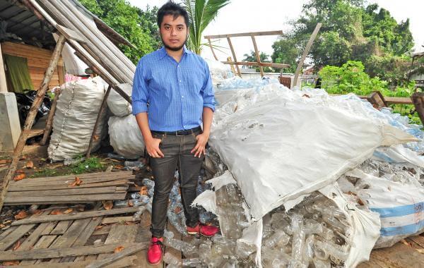 Pengusaha muda ekspor sampah