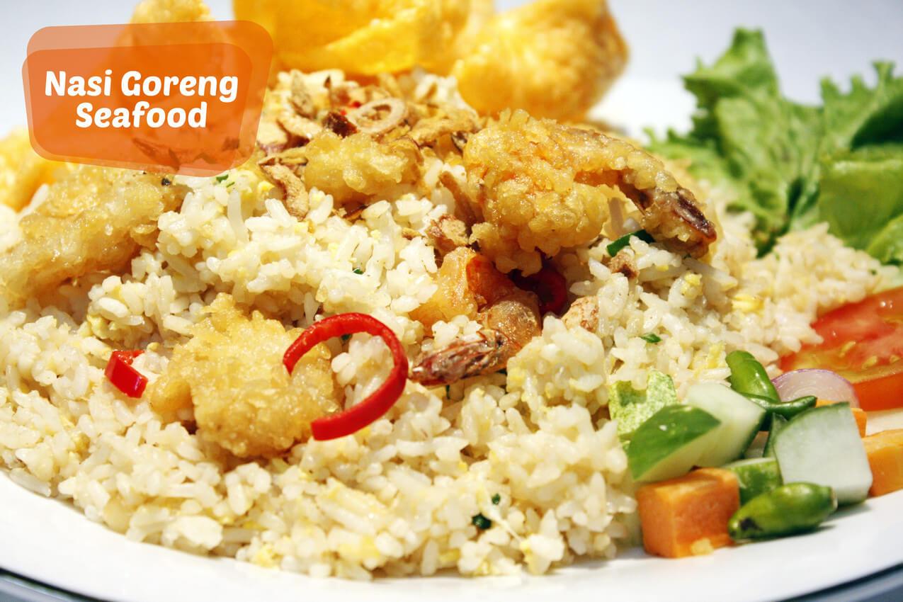 Peluang Usaha Nasi Goreng Seafood Ala Gerobak