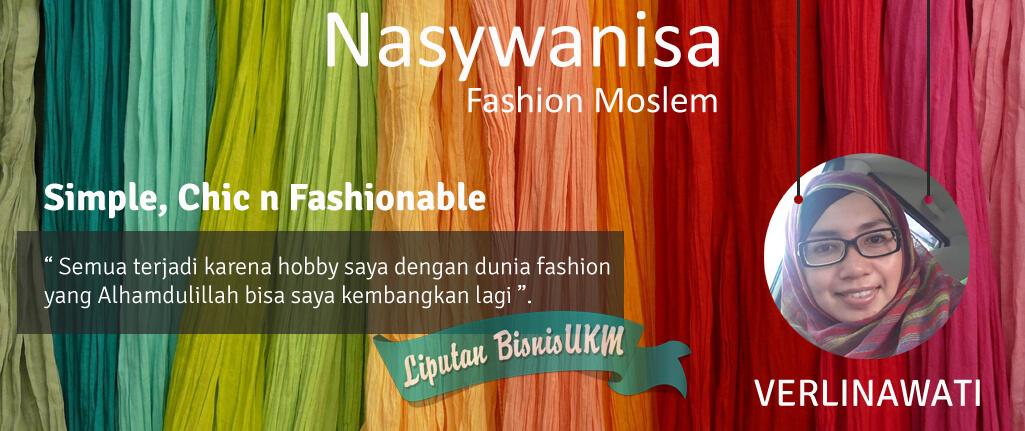 Kisah sukses bisnis fashion muslim Nasywanisa