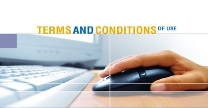 Term and conditions pada bisnis online
