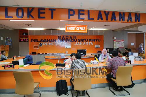 Loket Pelayanan Terpadu Satu Pintu DKI Jakarta