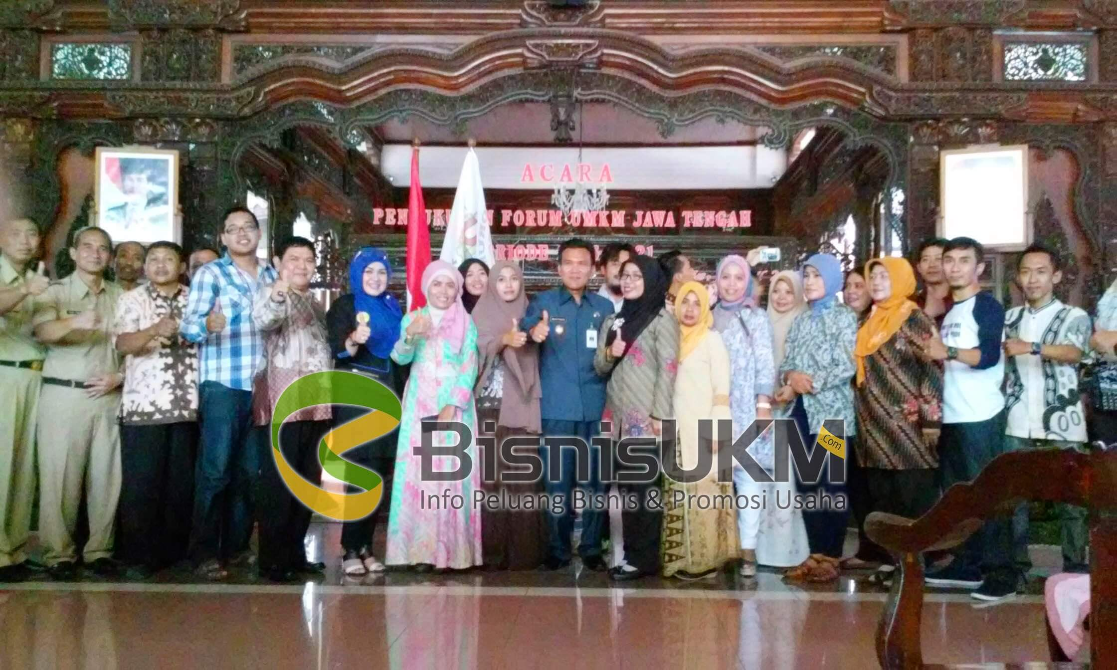 Pembentukan Forum UMKM se Jawa Tengah