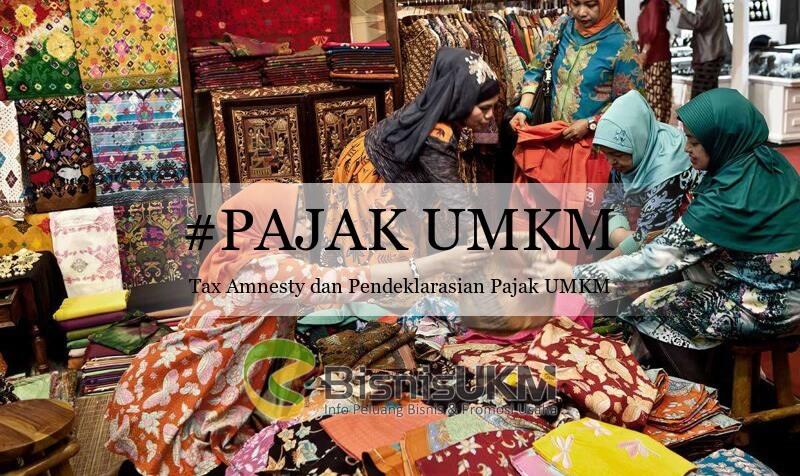 Tax Amnesty, Pendeklarasian Pajak UMKM