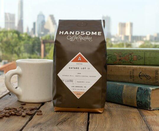 Desain kemasan kopi eksklusif