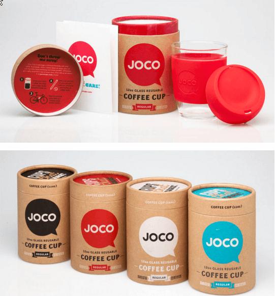 Kemasan kopi cup Joco