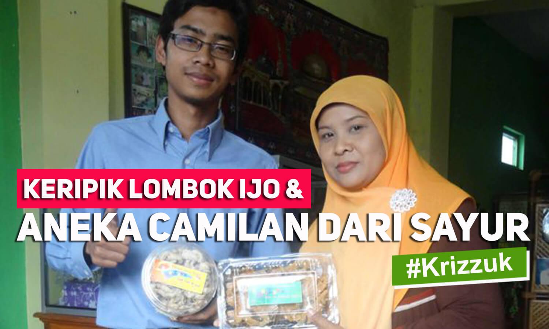 Keripik Lombok Ijo Dan Aneka Camilan Dari Sayur Produk Ukm Bumn Kripik Kripixx Jamoer Jamur Surabaya