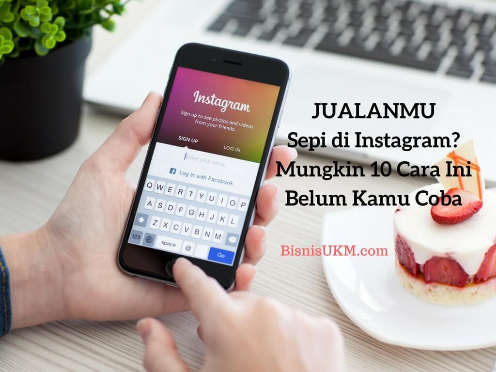 Promosi instagram cara jualan di instagram
