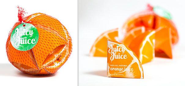 Desain kemasan minuman jus