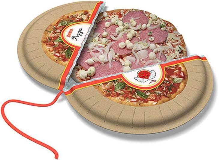 Desain kemasan pizza