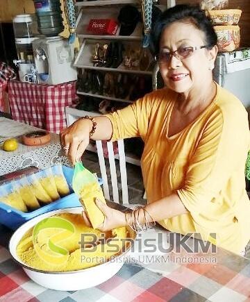 Tjok Agung Adnyani pemilik usaha minuman herbal Putri Bali