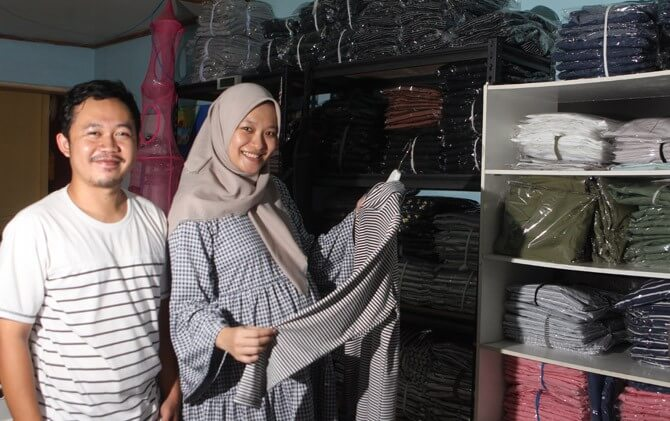 Kisah sukses pengusaha owner Nuna Hijab Wear