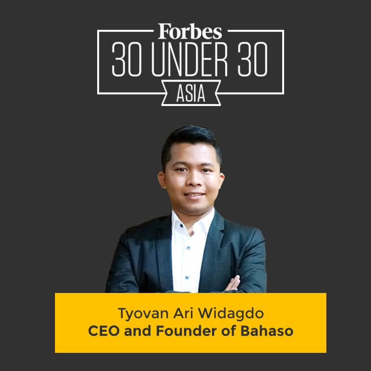 CEO dan founder of bahaso