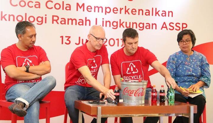 Coca-cola buat kemasan ramah lingkungan