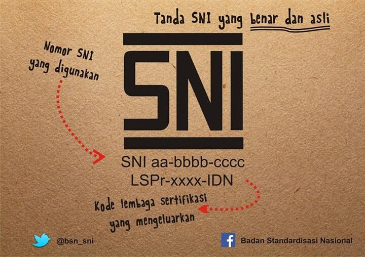 Wajib Cantumkan Logo SNI di Tahun 2018, Ini Tips Kenali SNI Asli!