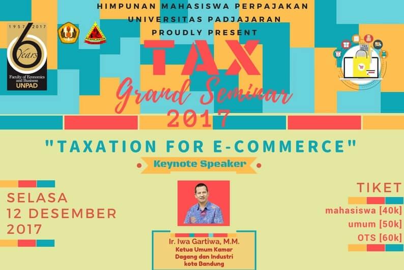 Pajak E-Commerce Dikejar, Cari Ilmunya Lewat Taxation For E-commerce!
