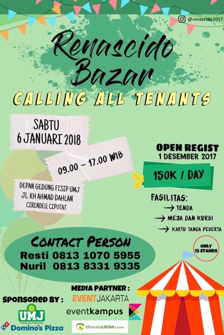 Info Bazar Murah, Ajang Promosi Untuk Pelaku UMKM!