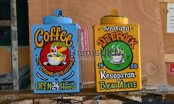 kerajinan pernik jadul untuk cafe vintage