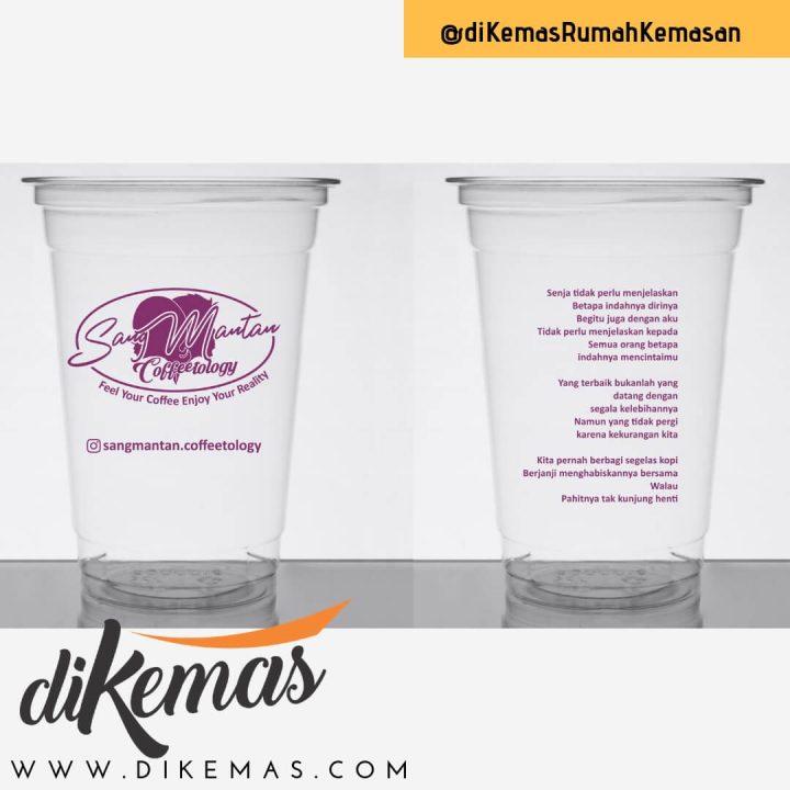 gelas plastik menambah nilai jual usaha minuman
