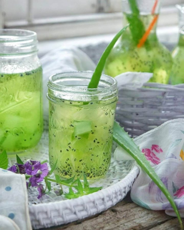 Es Lidah Buaya, Usaha Minuman Ramadhan yang Antimainstream