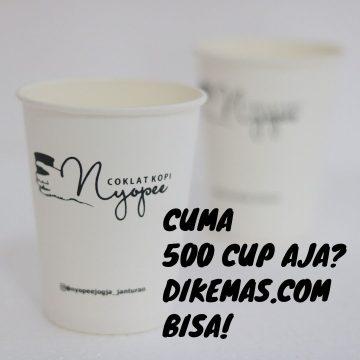 paper cup sablon