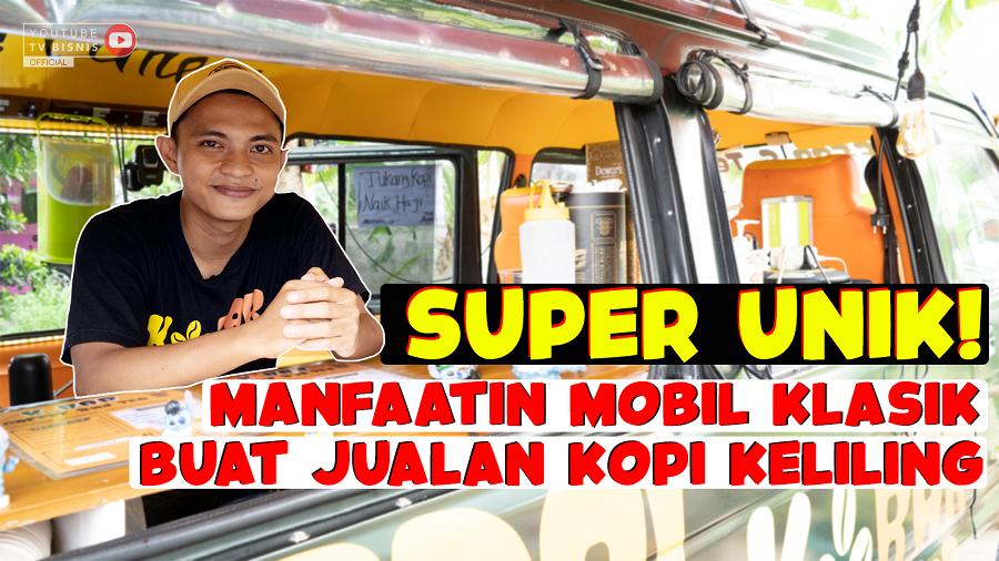 Super Keren, Sulap Mobil Klasik Jadi Kedai Kopi Unik!
