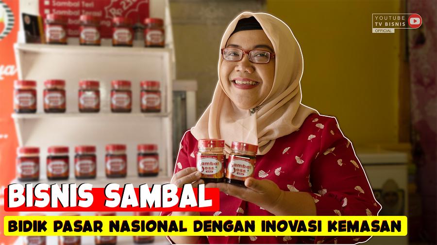 Cerita Womanpreneur Sukses Usaha Aneka Sambal Kemasan!