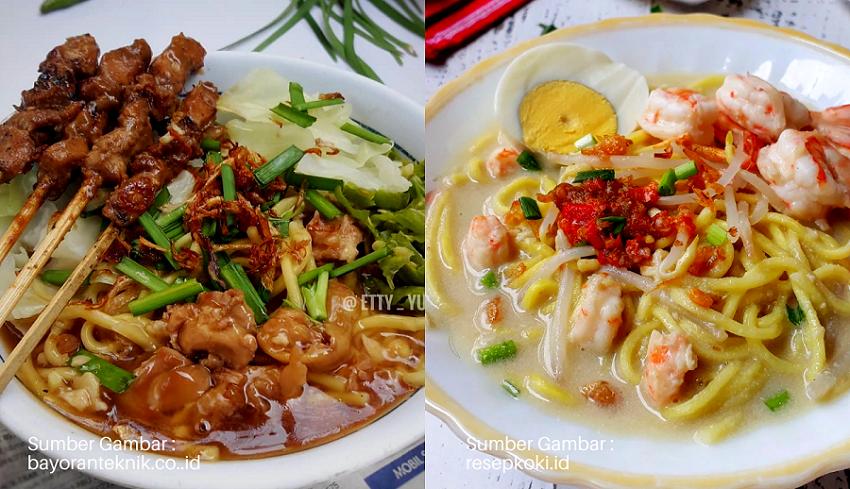 5 Resep Mie Khas Nusantara, Dari Pulau Sumatera Sampai Jawa!