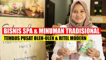 Bisnis Spa dan Minuman Tradisional Tembus Pusat Oleh-Oleh dan Ritel Modern