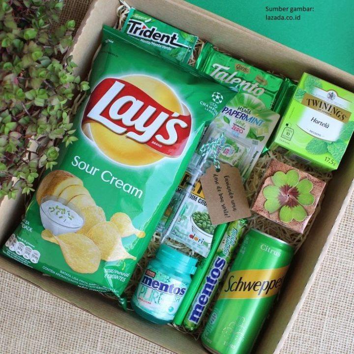 Ide Snack Box Satu Warna