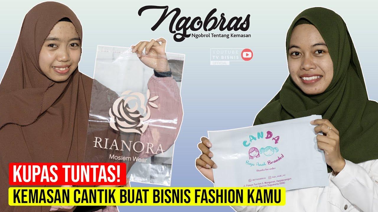 Rekomendasi Kemasan Plastik Fashion Buat Olshop!