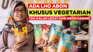 Ada Juga Lho Abon Vegetarian, Gak Kalah Lezat dari Abon Daging!