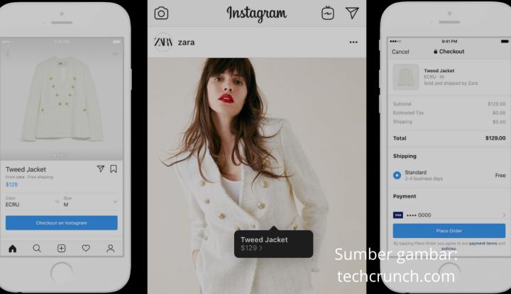 instagram shopping untuk maksimalisasi umkm
