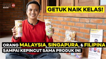 Orang Filipina Sampai Singapura Kepincut Keripik Getuk Ini!
