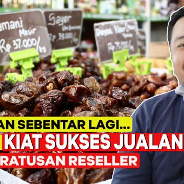 Sebentar Lagi Puasa, Inilah Kiat Sukses Bisnis Kurma Saat Ramadan