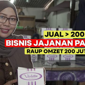 Laris Manis Bisnis Jajanan Pasar Omset 200 Juta Sebulan!